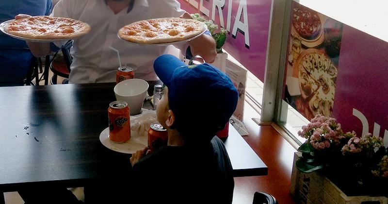 איך לטייל בהולנד עם ילדים וגם ליהנות - פיצה