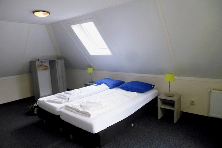 הולנד עם ילדים - חדר שינה בצימר