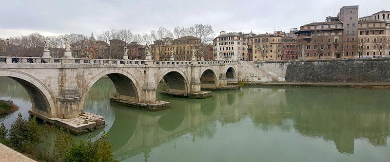 חופשה ברומא - גשר המלאכים