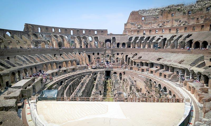חופשה ברומא - הקולוסיאום
