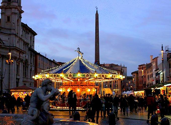 חופשה ברומא - פיאצה נבונה
