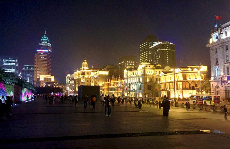 מסע כשר לסין - הבונד בשנחאי