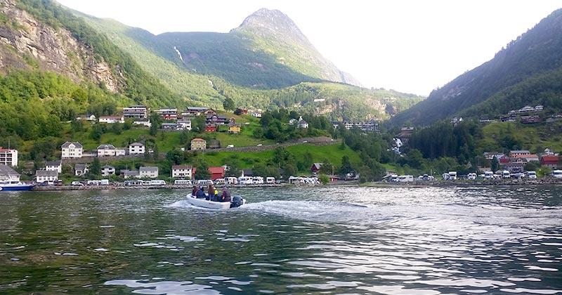 טיול קרוואנים בנורווגיה - גיירנגר