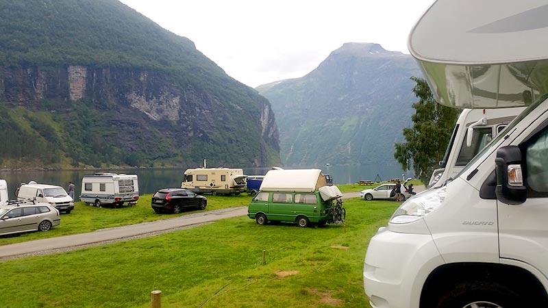 טיול קרוואנים בנורווגיה