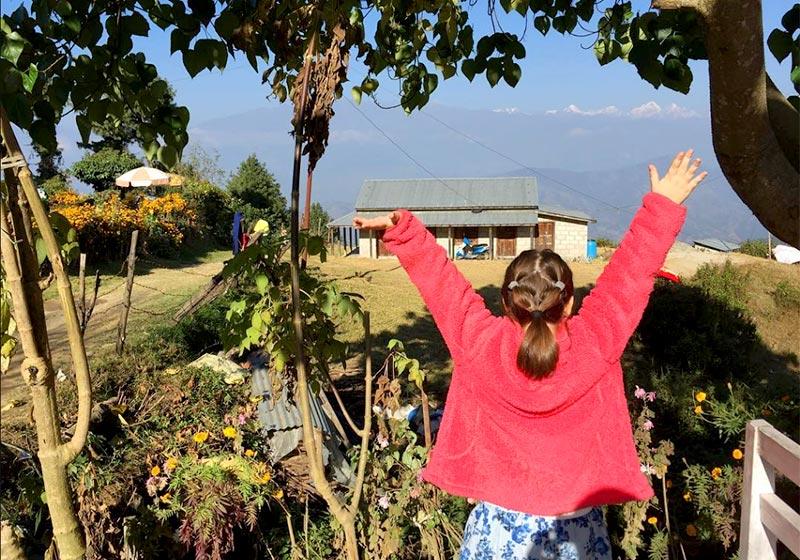 ראיון עם חני וינרוט - נעמי בקאקאני, נפאל
