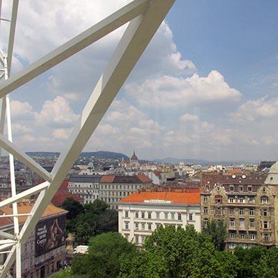 שלושה ימים בבודפשט - גלגל ענק