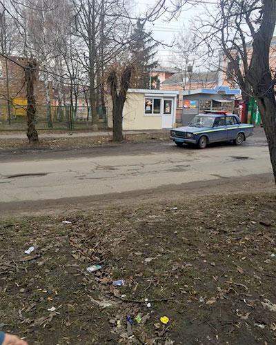אומן - רכב משטרה