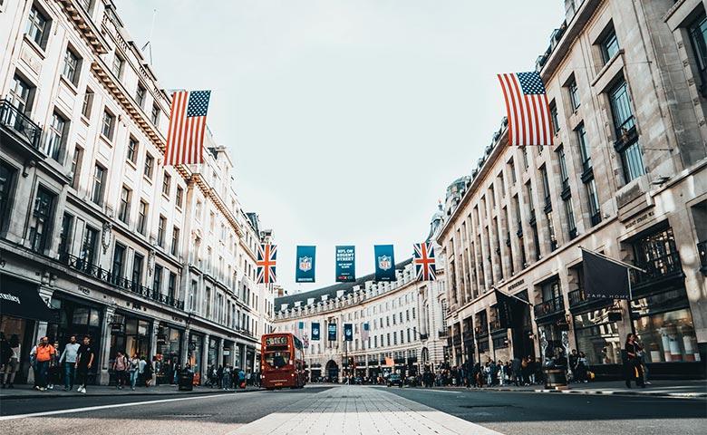שופינג בלונדון - רחוב ריג'נט