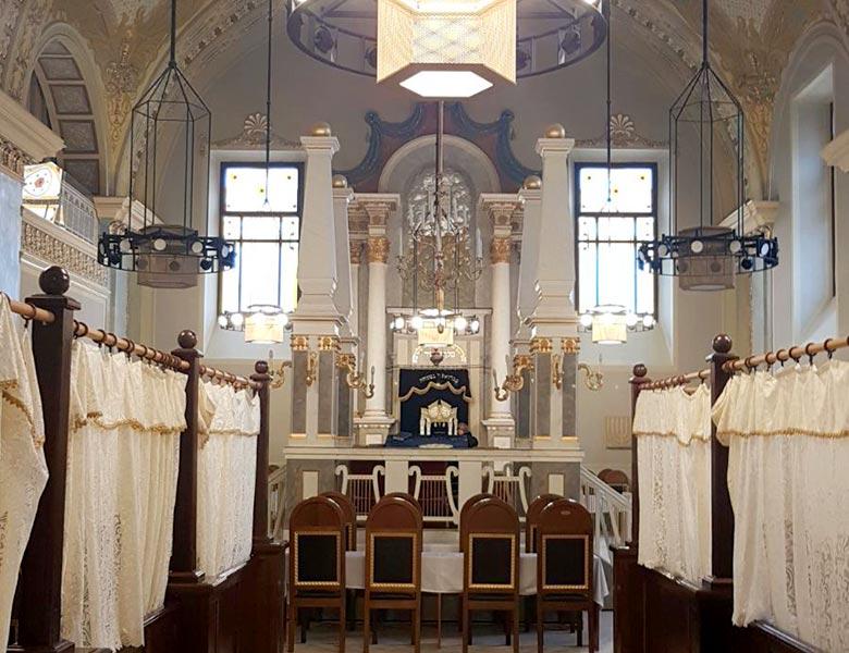 שלושה ימים בבודפשט - בית הכנסת אובודה