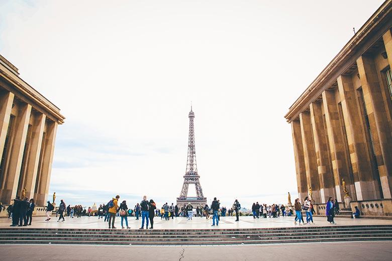 חופשה בפריז - ארמון שאיו