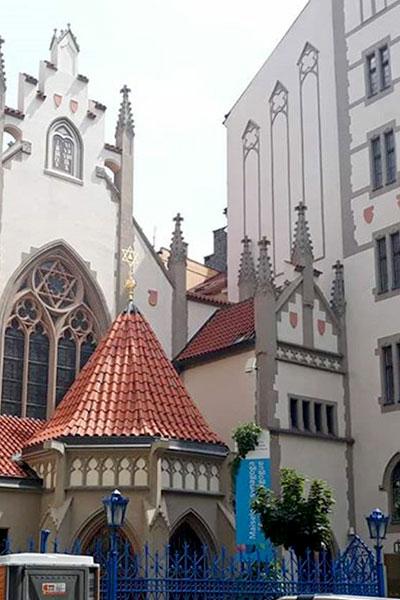 חופשה זוגית בפראג - בית הכנסת מייזל