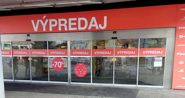 מרכז קניות בברטיסלבה