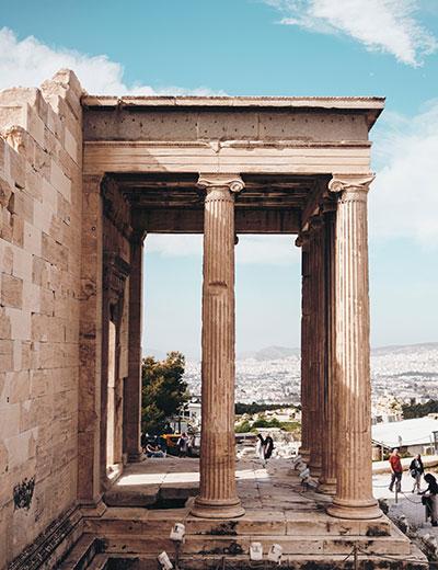 יוון למטיילים שומרי שבת וכשרות - אתונה