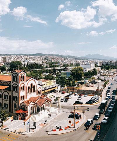 יוון למטיילים שומרי שבת וכשרות - סלוניקי