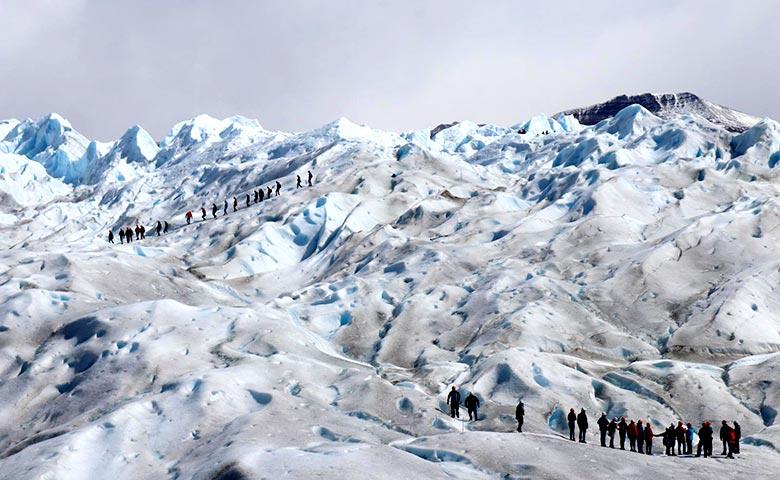 הליכה על קרחון פריטו מורנו