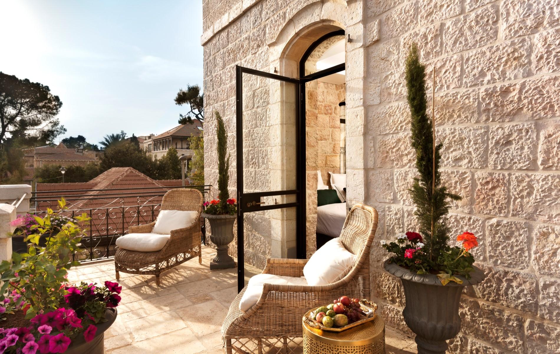 מלונות מומלצים בירושלים - וילה בראון. תמונה באדיבות המלון