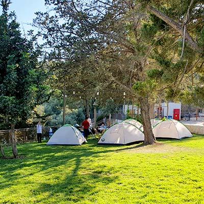 יומיים בירושלים - קמפינג ביער השלום
