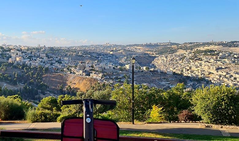 יומיים בירושלים - סגווי ביער השלום