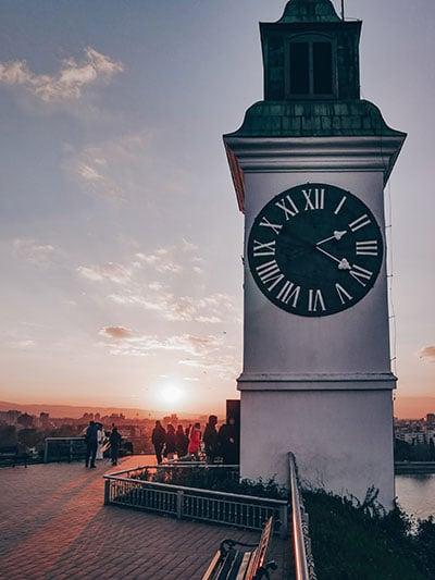 מגדל השעון במצודת פטרוורדין