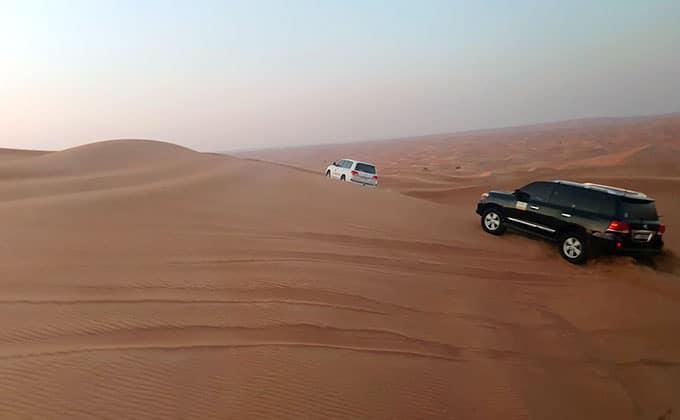טיול ג'יפים בדובאי