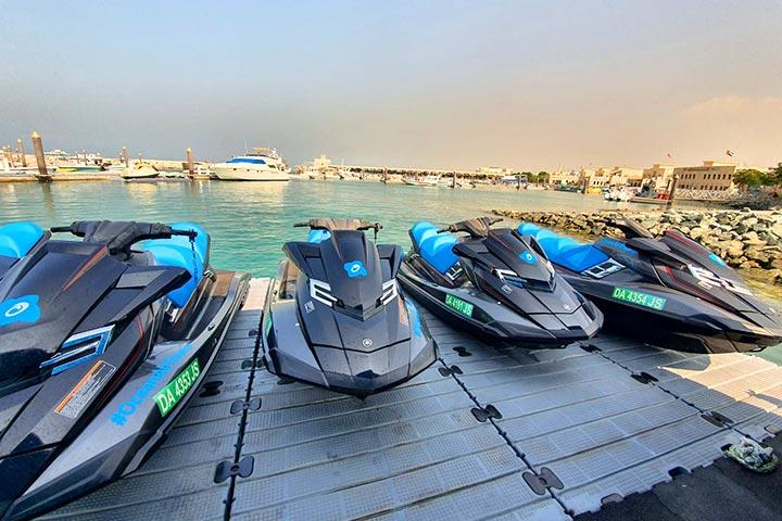 אופנוע ים בדובאי