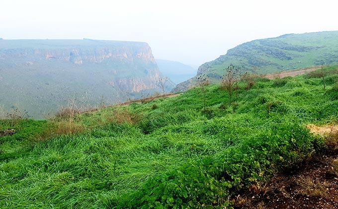 הר ניתאי מול מצוק הארבל