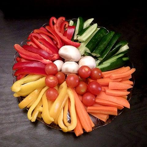 מתכונים לפיקניק - ירקות חתוכים