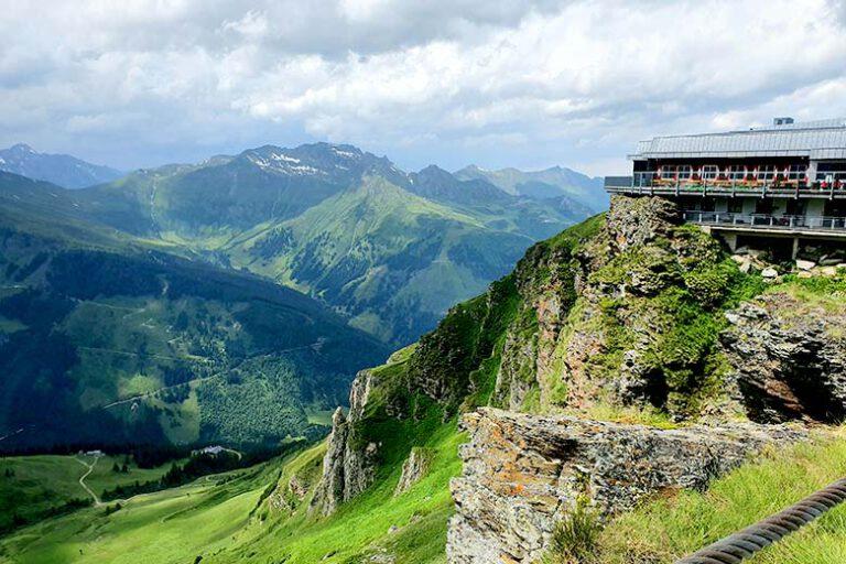 הנוף מה- Stubnerkogel באד גסטיין