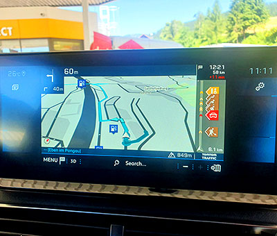 ניווט GPS ברכב אוסטריה
