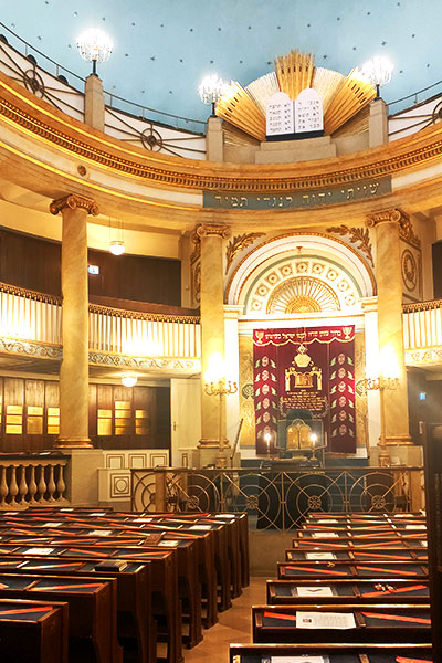 סוף שבוע בוינה - בית הכנסת הגדול וינה